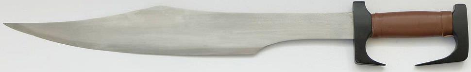 300 Film Schwert Damast kaufen Gefaltetes das Schwert König Leonidas