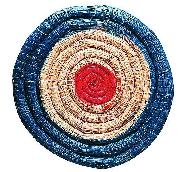 Strohzielscheibe kaufen 6 cm stark für Bögen für Bogensport