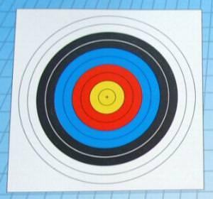 Zielscheibenauflage 60 cm