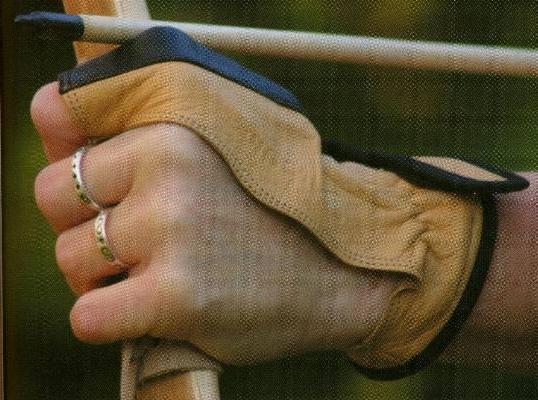 Pfeilauflagen Bogenhandschuh für Links kaufen
