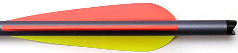 Armbrustbolzen - Armbrustpfeil 22 Zoll Aluminium Magnum EASTON XX75 Feder