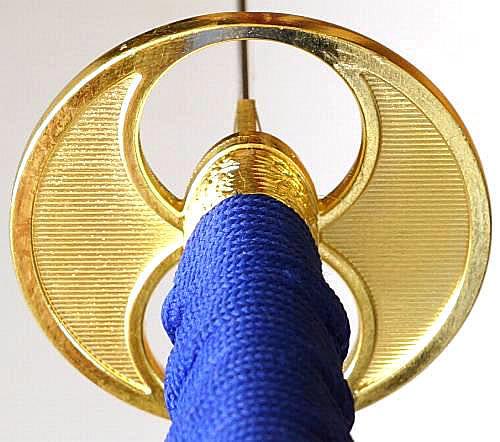 blaues Katana- Samurai Schwert Okinaga kaufen