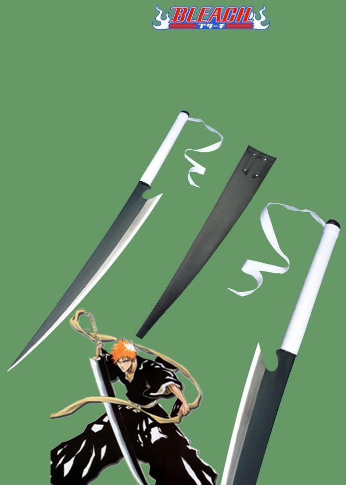 Bleach Ichigo Shikai Cutting Moon Zangetsu Anime Schwert kaufen