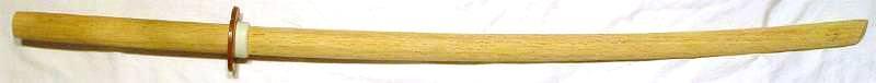 Bokken kaufen für Training aus Weißholz Holzsamuraischwert