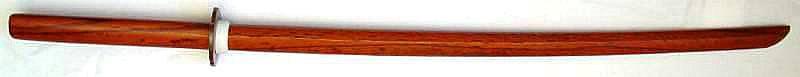 Bokken kaufen für Training braun Holzsamuraischwert