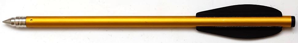 Bolzen für Armbrustpistole aus Aluminium 16,2 cm