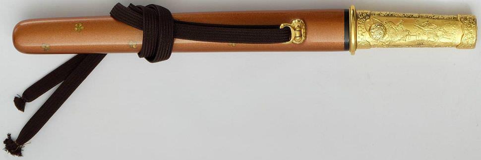 Bushido Tanto kaufen, Damast- gefaltetes für Samurai von Paul Chen