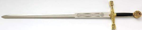 Excalibur Schwert Gold
