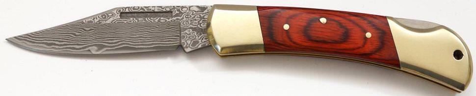 Damast Taschenmesser 37 Lagen kaufen