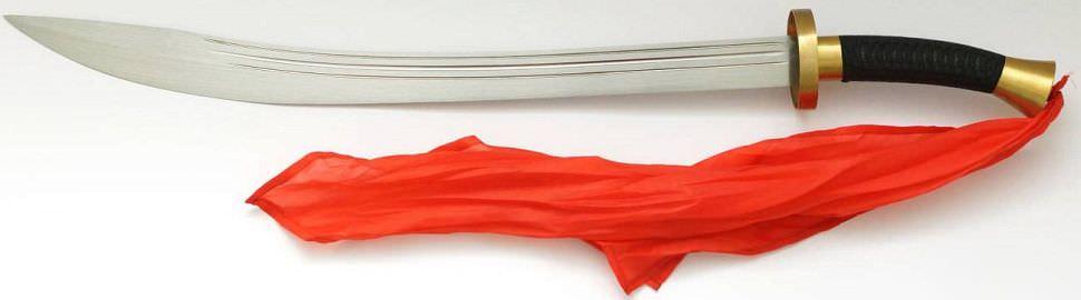 Dao Säbel kaufen Hanwei Dao Schwert The Ox-Tail von Paul Chen
