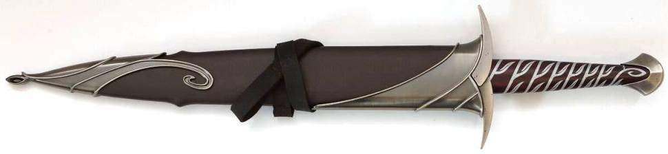 """Bilbo Baggins Stich Schwertscheide kaufen vom Film """"Der Hobbit"""", """"Herr der Ringe"""""""