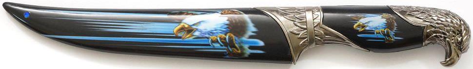 Dolch Weißkopfseeadler kaufen blau