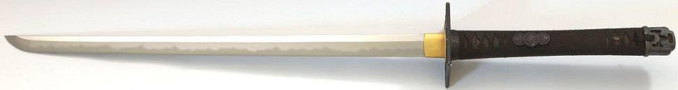 echtes Ninja Schwert kaufen Ninja Kouga Clan aus der Schmied Paul Chen in Hanwei