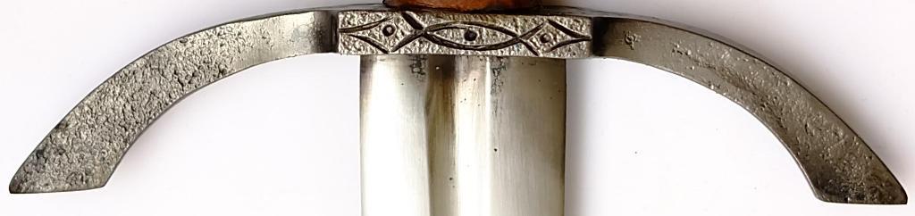 Gotisches Ritterschwert +scharf +echt +scheide +Handgeschmiedet Parierstange