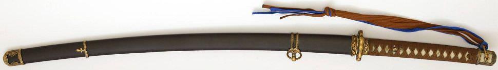 Gunto Echtes Samurai Schwert- Katana