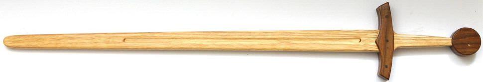 Holz Übungs Einhand Ritter Schwert Mittelalter kaufen