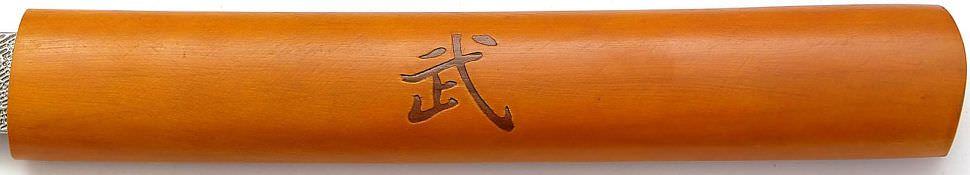 In Shirasaya Samurai Katana Schwert kaufen + Schnitzereien in Saya und Tsuka