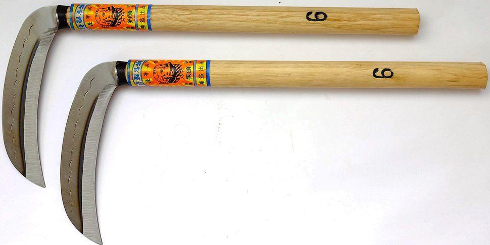 Kama Paar Scharf Waffe Der Ninja
