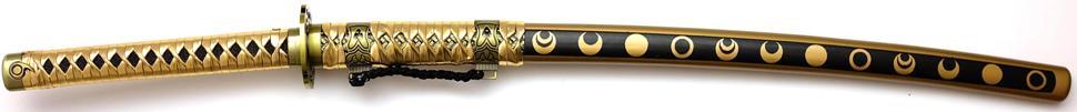 Katana - Samuraischwert Mikazuki Munechika Tachi