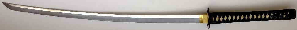 Katana- Samurai Schwert mit Gomai Klingenaufbau echtes Ninko ohne saya