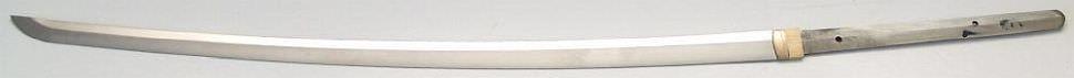 Katana- Samurai Schwert mit Gomai Klingenaufbau echtes Ninko nur die klinge