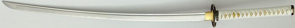 Samuraischwert - Katana mit schwarz roter Saya kaufen