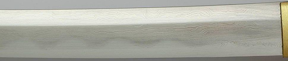 Katana- Samurai Schwert aus Damast- gefaltet Adler