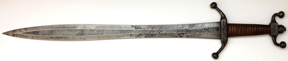 Keltischen Langschwert + scharf + kampfschwert circa 3.Jah v.Chr. bis 1. Jh. n.Chr. ohne Scheide