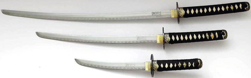 Kill Bill Samurai Katana kaufen Schwertset