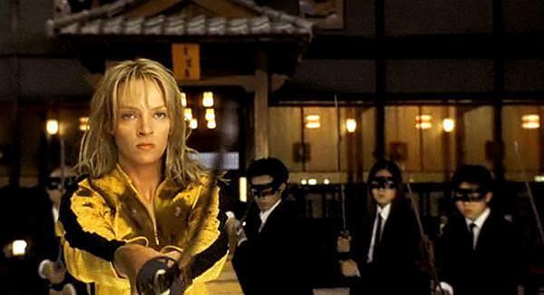 Kill Bill Schwert Samurai- Katana + Gefaltet- damast