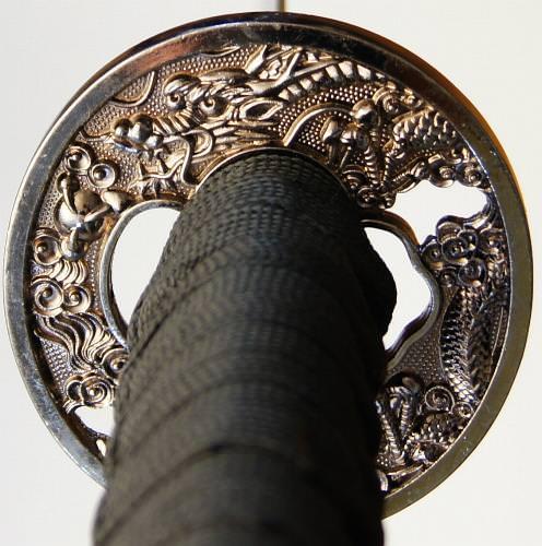 Last Samurai Schwert- Katana, Damast, gefaltet kaufen