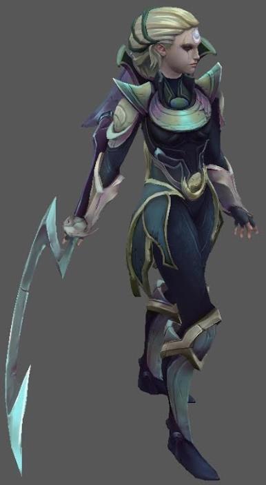 League of Legends Schwert von Diana kaufen hand am Griff