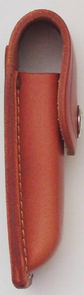 Leder- Gürteletui in Braun