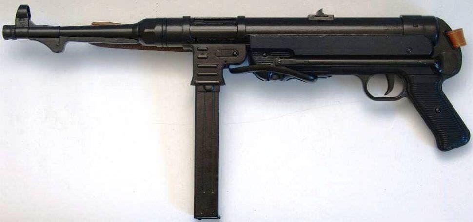 Maschinenpistole kaufen 40 MP40 Anscheinswaffe andere seite