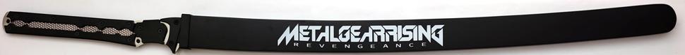 Metal Gear Schwert Rising + Holzscheide + Schriftzug Revengeance