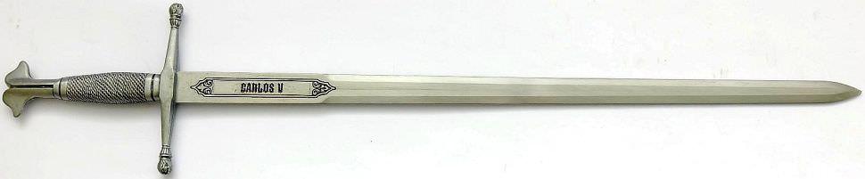 """Mini Schwert """"Karl V."""" Mittelalterschwert kaufen"""