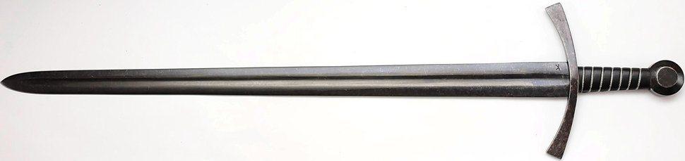 Mittelalter Schwert Acre Crusader Breitschwert