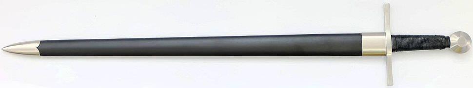 Mittelalteschwert Damast Ritterschwert kaufen -www.SchwertShop.de-ZS-9525Folded