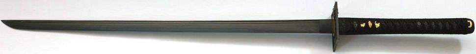 Ninja Schwert Kukishinden aus Damast- Gefaltet kaufen