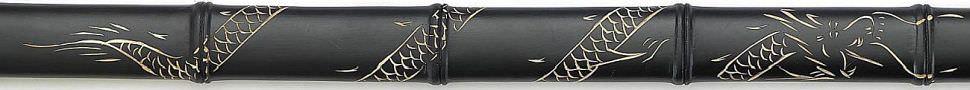 Ninja Schwert Gefaltet - Damast Red Black kaufen