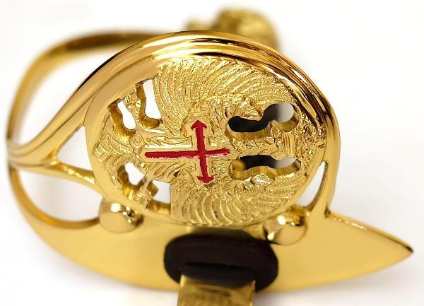 Offizieller Säbel der spanischen Armee für Offiziere das Kreuz