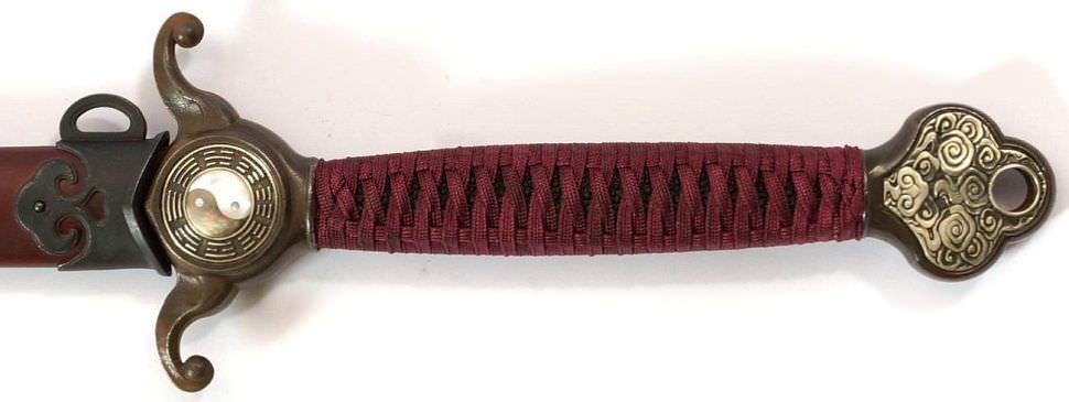 Tai Chi Schwert kaufen Drachen Yin Yang Paul Chen