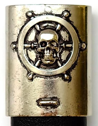 Piraten Schwert- Säbel kaufen mit Schiffsabbildung am Korb mundstück