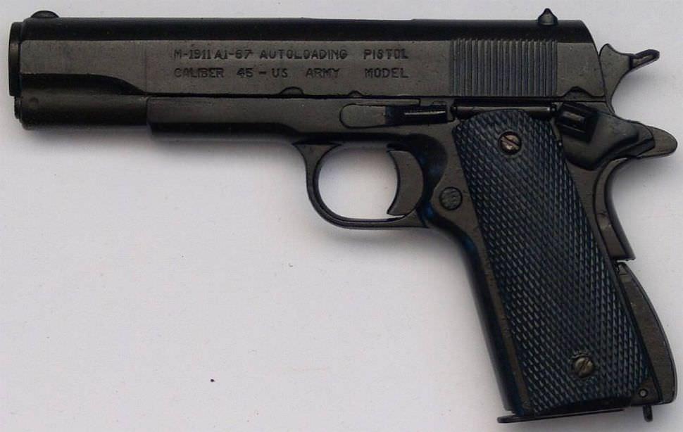 Pistole M 1912 Us Army kaufen Anscheinswaffe