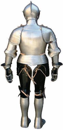 von hinten Ritterrüstung kaufen mit Helm