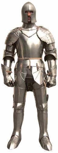 Ritterrüstung von Horn Mittelalter kaufen