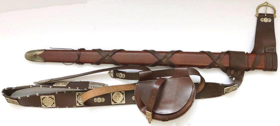 Robin Hood Schwertscheide vom lizenzierten Schwert
