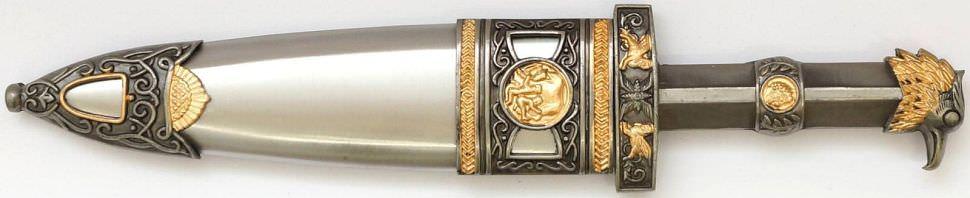 Römerdolch mit Metallscheide kaufen