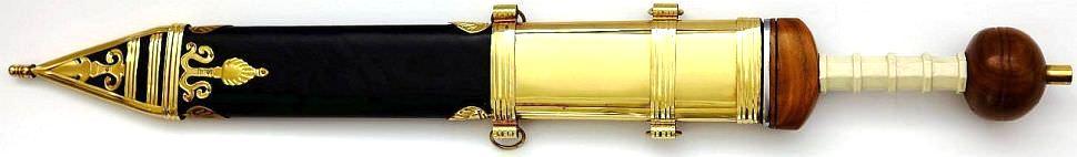 Römer Prätorianer Schwert kaufen Gladius Mainzer Kampfschwert Scharf