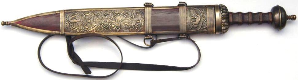 Römer Schwert kaufen Der Gladius von Galba Kampf Schwert scharf